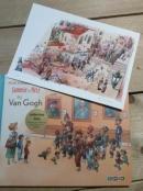 Sammie en Nele bij Van Gogh. Engels Artist edition