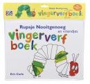 Rupsje Nooitgenoeg vingerverfboek + kliederschort