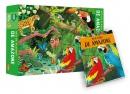De Amazone - Red de planeet - puzzel en boek