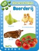 Allereerste stapjes Baby's eerste boek boerderij 12/18 maanden