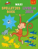 Maxi spelletjesboek / Maxi livre de jeux 5-7