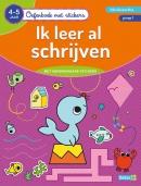 Oefenboek met stickers - Ik leer al schrijven (4-5 j.)