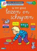 Speel- en oefenboek met beloningsstickers Ik leer goed lezen en schrijven 6-7 jaar