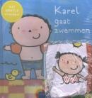 Karel gaat zwemmen + strandbal