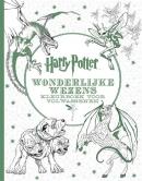 Harry Potter Wonderlijke wezens - Kleurboek voor volwassenen