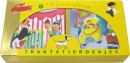 Een Gouden Boekjes traktatiebox met kartonboekjes