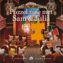 Het Muizenhuis; Puzzel mee met Sam & Julia, lezen en plaatjes puzzelen. Elke puzzel heeft 12 stukjes