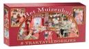 De Muizenhuis Traktakiebox, 4 x 2 kartonnen uitdeelboekjes over Sam en Julia