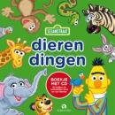 Dierendingen, Sesamstraat, Boek + CD, 20 liedjes van en over dieren