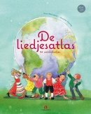 De liedjesatlas, boek + Cd, 24 wereldliedjes, Koos Meinderts, Annette Fienieg