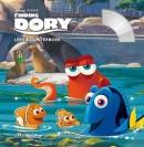 Finding Dory, Boek met CD  Disney Pixar,de favoriete figuren uit Finding Nemo worden opnieuw met elkaar herenigd. Zelf lezen of naar het verhaal luisteren, read along.Met stemmen uit de film. Vanaf juni in de bioscoop!