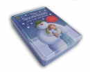Sneeuwman bewaarblik - miniprentenboek, poster, doeboekje en dvd