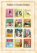 Pakket 12 Gouden Boekjes