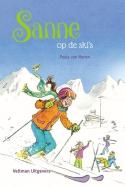 Sanne op de ski's