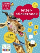 Maan roos vis letter-stickerboek