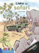 Lieke op safari