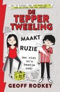 De Tepper-tweeling maakt ruzie (en niet zo'n beetje ook)