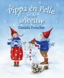 Pippa en Pelle in de sneeuw