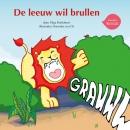 De leeuw wil brullen