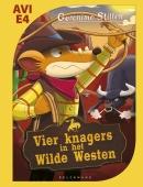 Vier knagers in het Wilde Westen-Makkelijk Lezen