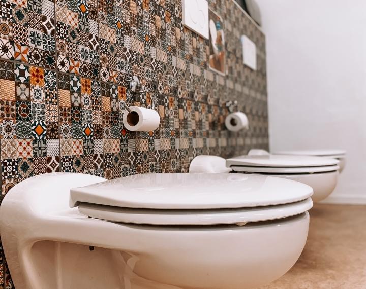 3 toiletjes