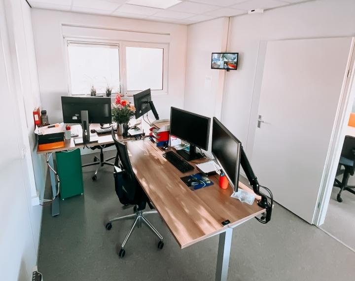 Overzicht kantoor