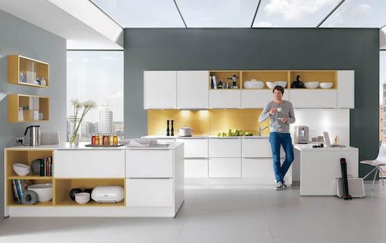 Weisse küche weisse küchen farbige küchen vergleichen mit