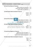 Wortarten: Führerschein-Testaufgaben Preview 2