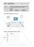 Rechtschreibung, Wörter mit Sp/sp: Führerschein-Übungsaufgaben und Lösung Preview 1