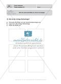 Texte verfassen, Texte ordnen: Führerschein-Übungsaufgaben und Lösung Preview 1