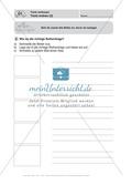 Texte verfassen, Texte ordnen: Führerschein-Übungsaufgaben und Lösung Preview 2