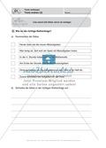 Texte verfassen, Texte ordnen: Führerschein-Übungsaufgaben und Lösung Preview 3