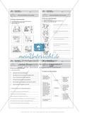 Texte verfassen, Texte ordnen: Führerschein-Übungsaufgaben und Lösung Preview 5