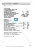 Lesekompetenz, Erzähltexte: Führerschein-Testaufgaben Preview 1