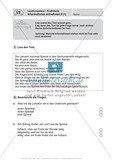 Lesekompetenz, Erzähltexten Informationen entnehmen II: Führerschein-Übungsaufgaben und Lösung Preview 1