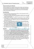 Methodik: Perspektivwechsel beim Schreiben Preview 1