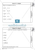 Rechnen mit Brüchen: Stationen: Arbeitsblätter, Aufgaben mit Lösungen Preview 10