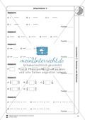 Rechnen mit Brüchen: Stationen: Arbeitsblätter, Aufgaben mit Lösungen Preview 11