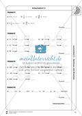 Rechnen mit Brüchen: Stationen: Arbeitsblätter, Aufgaben mit Lösungen Preview 12