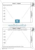 Rechnen mit Brüchen: Stationen: Arbeitsblätter, Aufgaben mit Lösungen Preview 1
