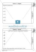 Rechnen mit Brüchen: Stationen: Arbeitsblätter, Aufgaben mit Lösungen Preview 2