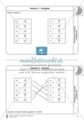 Rechnen mit Brüchen: Stationen: Arbeitsblätter, Aufgaben mit Lösungen Preview 3