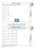 Rechnen mit Brüchen: Stationen: Arbeitsblätter, Aufgaben mit Lösungen Preview 5