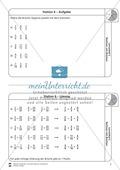 Rechnen mit Brüchen: Stationen: Arbeitsblätter, Aufgaben mit Lösungen Preview 6