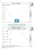 Rechnen mit Brüchen: Stationen: Arbeitsblätter, Aufgaben mit Lösungen Preview 7