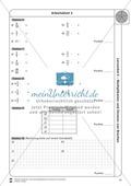 Stationsarbeit - Multiplikation und Division von Brüchen: Stationskärtchen, Lösungen, Arbeitsbögen Preview 12