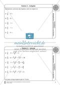 Stationsarbeit - Multiplikation und Division von Brüchen: Stationskärtchen, Lösungen, Arbeitsbögen Preview 2