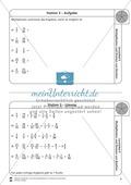 Stationsarbeit - Multiplikation und Division von Brüchen: Stationskärtchen, Lösungen, Arbeitsbögen Preview 3