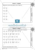 Stationsarbeit - Multiplikation und Division von Brüchen: Stationskärtchen, Lösungen, Arbeitsbögen Preview 4