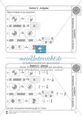 Stationsarbeit - Multiplikation und Division von Brüchen: Stationskärtchen, Lösungen, Arbeitsbögen Preview 5